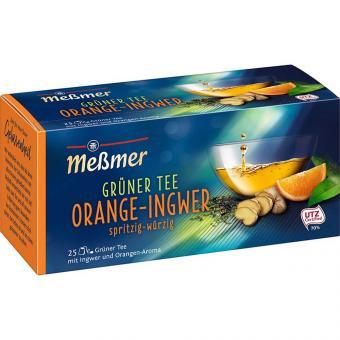 Meßmer Grüner Tee Orange-Ingwer 25er
