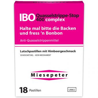 Miesepeter IBO Quasselstrippe-Stop 400 complex 18er