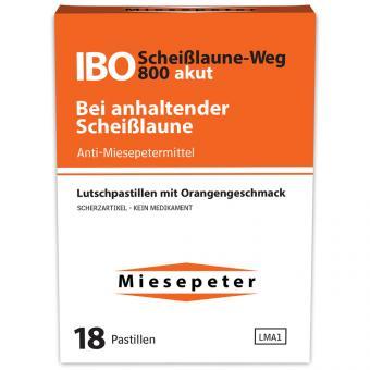 Miesepeter IBO Scheißlaune-Weg 800 akut 18er