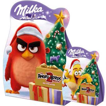 Milka & Angry Birds Mini Snowballs Geschenk 63g