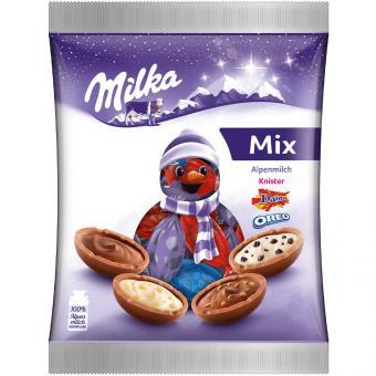 Milka Bonbon Mix Weihnachten 132g