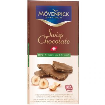 Mövenpick Swiss Chocolate Delicious Hazelnut 70g
