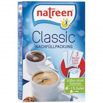 natreen Classic Nachfüllpackung 3x500er