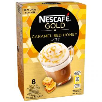 Nescafé Gold Caramelised Honey Latte 8er