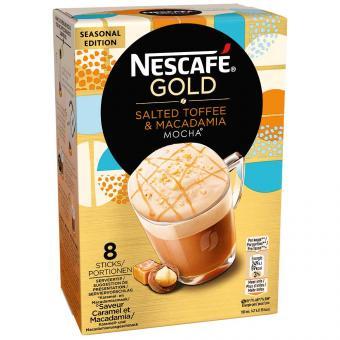 Nescafé Gold Salted Toffee & Macadamia Mocha 8er