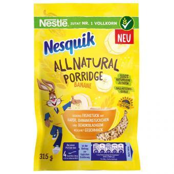 Nesquik All Natural Porridge Banane 315g