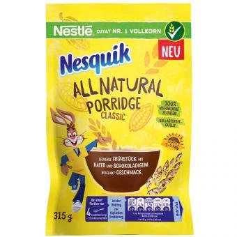 Nesquik All Natural Porridge Classic 315g