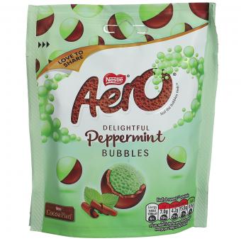 Nestlé Aero Bubbles Peppermint 102g