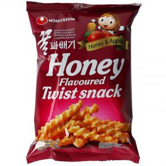 Nong Shim Twist Snack Honey & Apple 75g