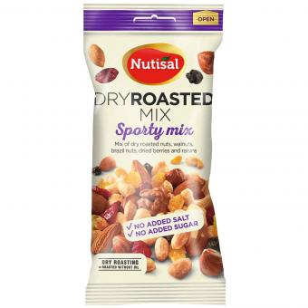 Nutisal Dry Roasted Mix Sporty 60g