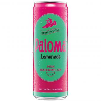 Paloma Pink Watermelon Lemonade 355ml