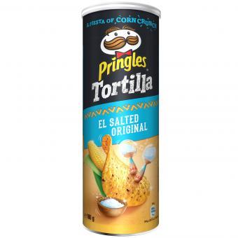 Pringles Tortilla El Salted Original 180g
