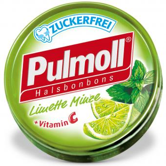 Pulmoll Limette Minze zuckerfrei