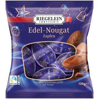 Riegelein Edel-Nougat Zapfen 100g