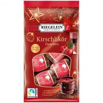 Riegelein Kirschlikör Fässchen 125g