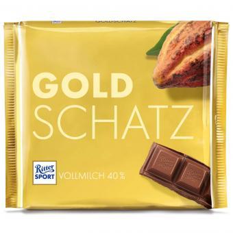 Ritter Sport Vollmilch Goldschatz 250g