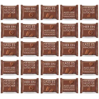 Ritter Sport mini Kakao-Keks Schokosprüche 25er