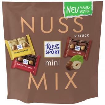 Ritter Sport mini Nuss Mix Tüte 9er