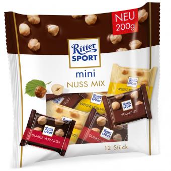 Ritter Sport mini Nuss Mix 12er