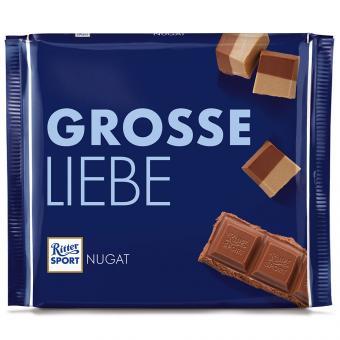 Ritter Sport Nugat Grosse Liebe 250g