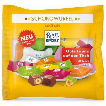 Ritter Sport Schokowürfel Maxi Mix 28er