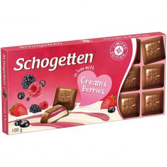 """Schogetten """"in love with"""" Cream & Berries 100g"""