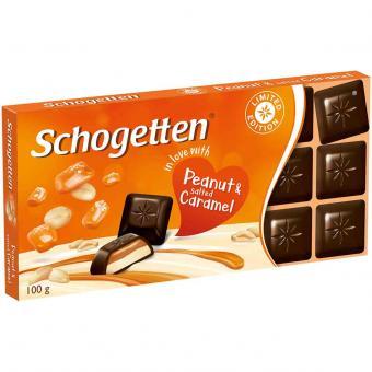 """Schogetten """"in love with"""" Peanut & Salted Caramel 100g"""