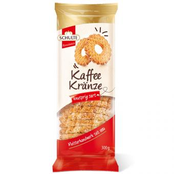 Schulte Kaffee Kränze 300g
