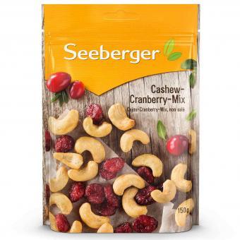 Seeberger Cashew-Cranberry-Mix 150g