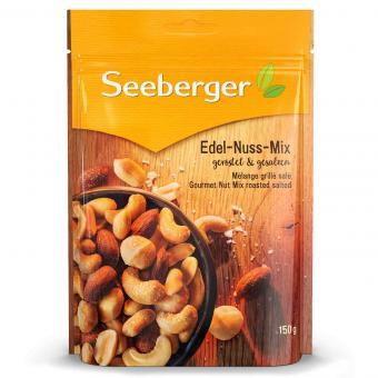 Seeberger Edel-Nuss-Mix geröstet & gesalzen 150g