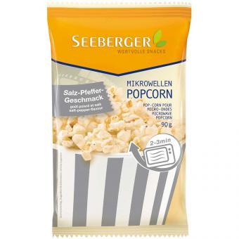 Seeberger Mikrowellen Popcorn Salz-Pfeffer Geschmack 90g