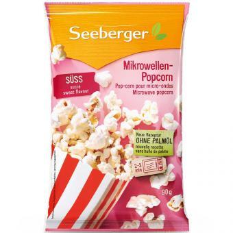 Seeberger Mikrowellen Popcorn süß 90g