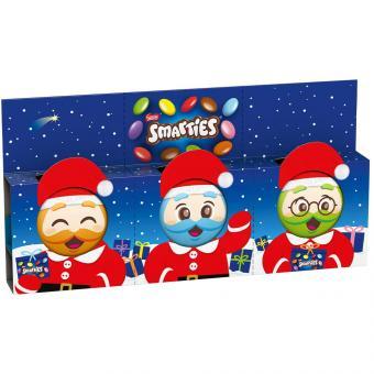 Smarties Mini-Weihnachtsmänner 3x18,5g
