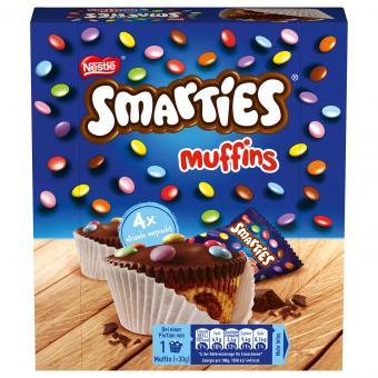 Smarties Muffins 4x30g