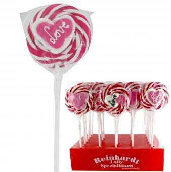 Lolly Master Spiral-Lolly Herz