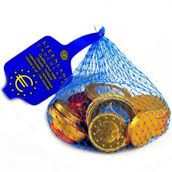 Stereo Schokomünzen im Netz 75g