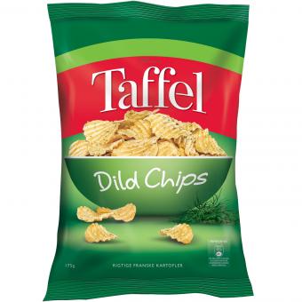 Taffel Dild Chips 175g