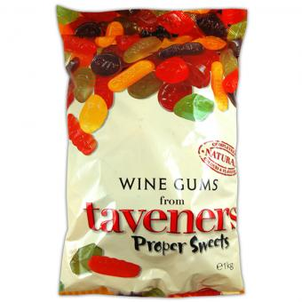 Taveners Wine Gums 1kg