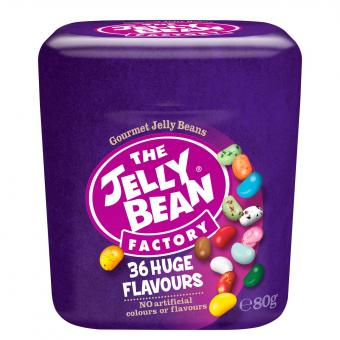 The Jelly Bean Factory 36 Huge Flavours Cup 80g