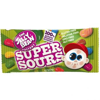The Jelly Bean Factory Gourmet Super Sours 50g