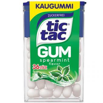 tic tac Gum spearmint 36er