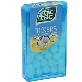 tic tac Mixers Coconut Pineapple 18g