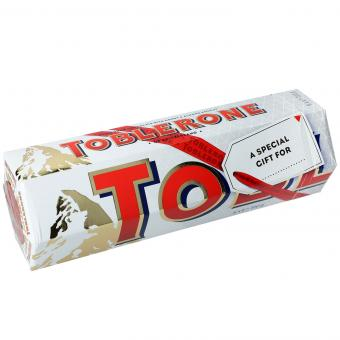 Toblerone White 6x100g (MHD 16.12.2020)