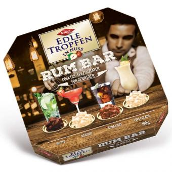 Trumpf Edle Tropfen in Nuss Rum Bar 100g