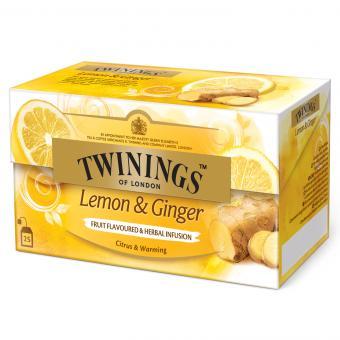 Twinings Lemon & Ginger 25er
