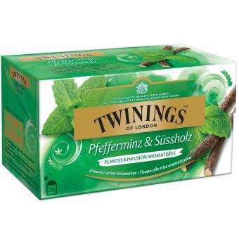 Twinings Pfefferminz & Süßholz 25er