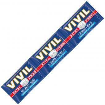 Vivil Extra Strong Pfefferminz zuckerfrei 3er