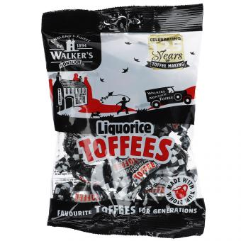 Walker's Nonsuch Liquorice Toffees 150g