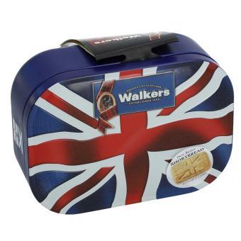 Walkers Pure Butter Shortbread Union Jack Keepsake Tin 120g