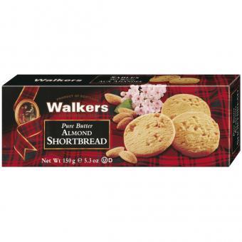 Walkers Pure Butter Almond Shortbread 150g